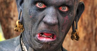 most tattooed man